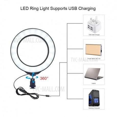 Gredzenveida LED lampas - Puluz Ring video light kit (PU391) - perc šodien veikalā un ar piegādi