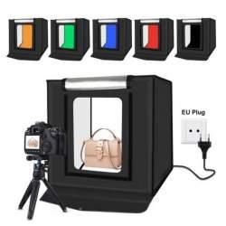 Световые кубы - PU5040EU Portable Photo Studio 40cm LED 4400 lumens - купить сегодня в магазине и с доставкой