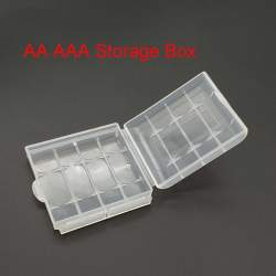 Batteries and chargers - AA/AAA Bateriju kastīte četrvietīga - buy today in store and with delivery