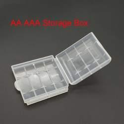 Батарейки и аккумуляторы - AA/AAA Bateriju kastīte četrvietīga - купить сегодня в магазине и с доставкой