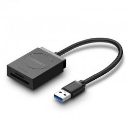 Карты памяти - UGREEN USB Adapter Card Reader SD, microSD - купить сегодня в магазине и с доставкой