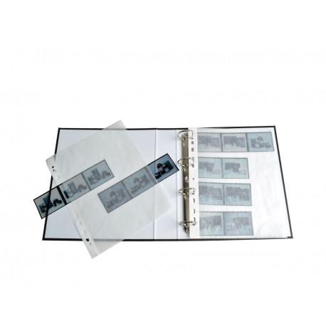 MACO Glassine Negative Sleeves for medium format (6x6 / 6x7) | 25 sheets