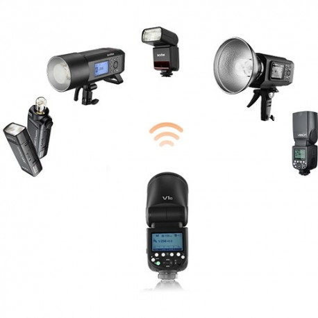 Godox V1 round head flash Olympus/Panasonic