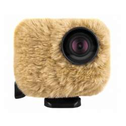 RV0163 Windshield Removu Wind Jacket for GoPro cameras – brown