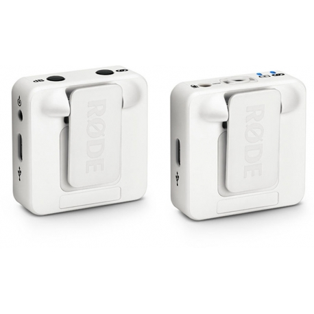 Skaņas ierakstīšana - RODE Wireless GO White Compact Wireless Microphone System