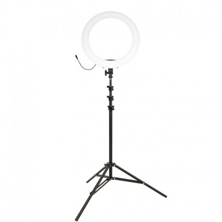 Gredzenveida LED lampas - Newell LED ring light KIT RL-18A – WB (3200 K – 5500 K) - perc šodien veikalā un ar piegādi