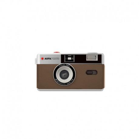 Filmu kameras - AGFAPHOTO REUSABLE CAMERA 35MM BROWN - perc šodien veikalā un ar piegādi