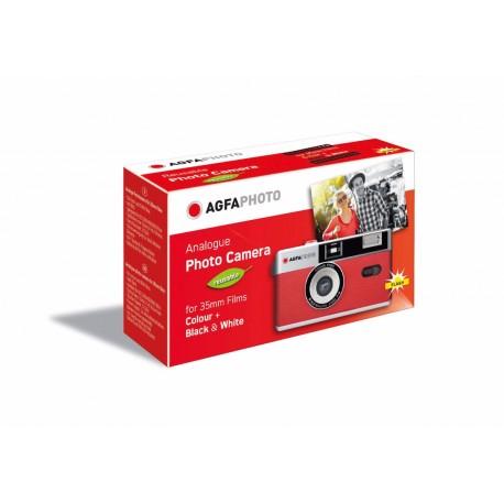 Filmu kameras - AGFAPHOTO REUSABLE CAMERA 35MM RED - perc šodien veikalā un ar piegādi