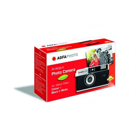 Filmu kameras - AGFAPHOTO REUSABLE CAMERA 35MM BLACK - perc šodien veikalā un ar piegādi