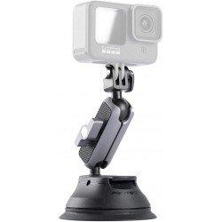Stiprinājumi action kamerām - PGYTECH suction cup action camera GoPro Osmo P-GM-132 - perc šodien veikalā un ar piegādi