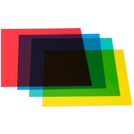 ADJ Colorfilter set 4 filtru komplekts Red Green Yellow Blue