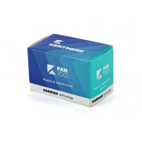 Foto filmiņas - Kentmere B&W PAN 100 35mm 36 exposures - perc šodien veikalā un ar piegādi