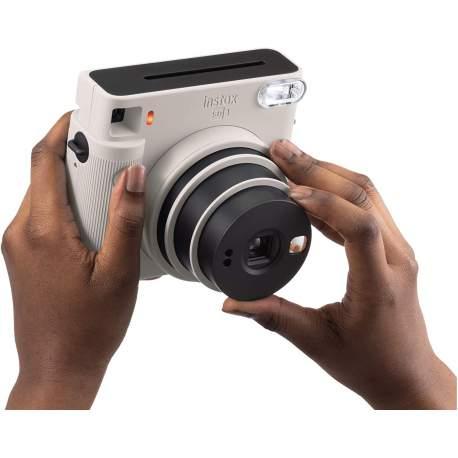 instax SQUARE SQ1 CHALK WHITE instant camera