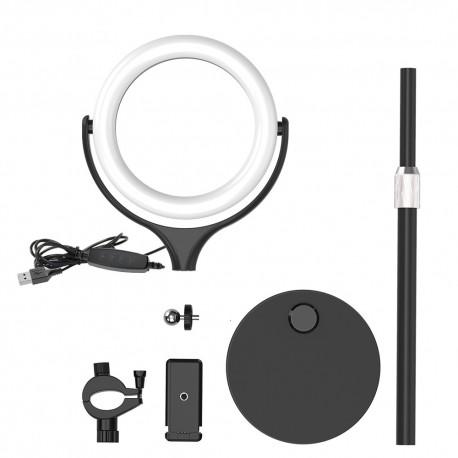 Viedtālruņiem - Blitzwolf BW-SL4 Desktop Flash LED Phone Holder - perc šodien veikalā un ar piegādi