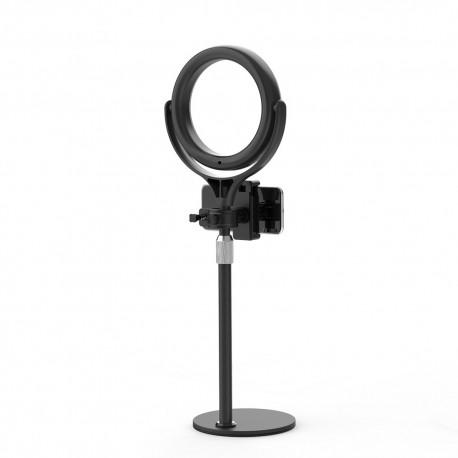 Jaunas preces - Blitzwolf BW-SL4 Desktop LED Ring light with Phone Holder - perc šodien veikalā un ar piegādi
