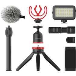 Mikrofonu aksesuāri - Boya vlogging kit Advanced BY-VG350 - perc šodien veikalā un ar piegādi