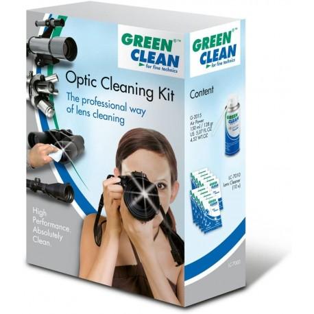 Foto kameras tīrīšana - Green Clean LC-7000 optikas tīrīšanas komplekts - ātri pasūtīt no ražotāja