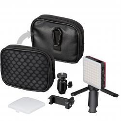 LED uz kameras - Bresser Pocket Light 5W LED Bi-color CRI95+ - perc šodien veikalā un ar piegādi