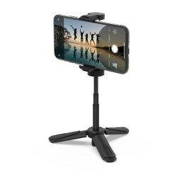 Viedtālruņiem - BlitzWolf BW-BS0 Mini Selfie Stick (black) - perc šodien veikalā un ar piegādi