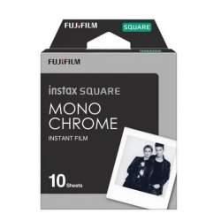 Instantkameru filmiņas - FUJIFILM Monochrome film instax SQUARE (10PK) - perc šodien veikalā un ar piegādi