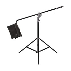 Boom - PHOTTIX SALDO 395 STUDIO BOOM LIGHT STAND 395CM - buy today in store and with delivery