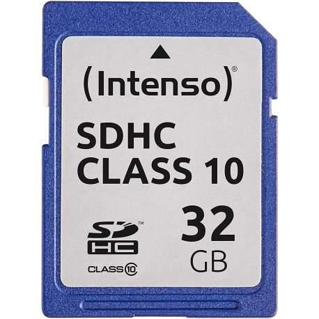 Atmiņas kartes - Intenso Memory card SDHC 32GB C10 - perc šodien veikalā un ar piegādi