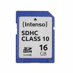 Intenso Memory card SDHC 16GB C10