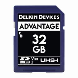 Atmiņas kartes - Delkin SD Advantage 660X UHS-I U3 (V30) R90/W90 32GB - купить сегодня в магазине и с доставкой