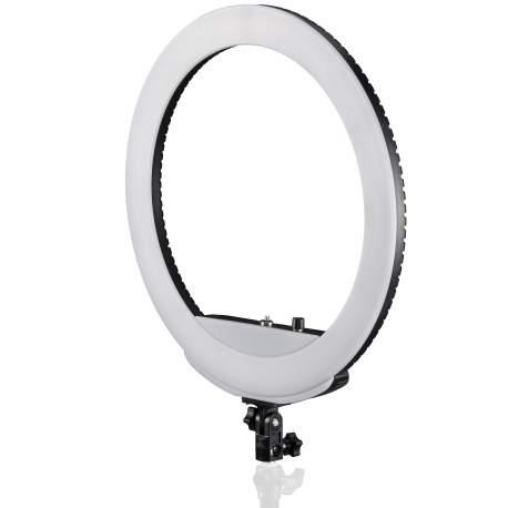 """""""Ring"""" pastāvīgā gaisma - Bresser LED MM-26AB Ringlamp 48W - ātri pasūtīt no ražotāja"""