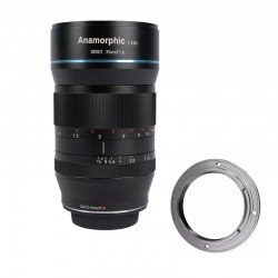 Lenses - SIRUI ANAMORPHIC LENS 1,33X 35MM 1.8 Canon EF (MFT with lens adapter for Canon EF-mount) SR-35M - quick order from manufacturer