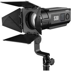Fresnel Prožektori - Godox Focusing LED Fresnel Light S30-Daylight - ātri pasūtīt no ražotāja