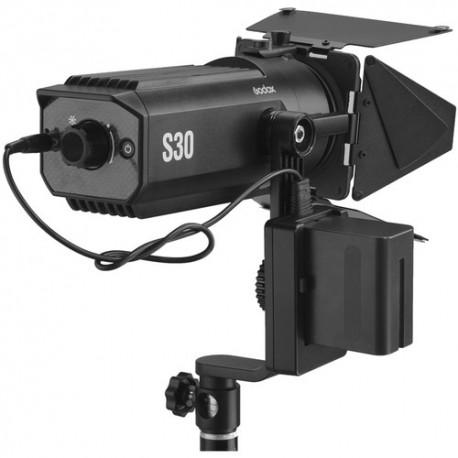 Video LED - Godox Focusing LED Fresnel Light S30-Daylight - perc šodien veikalā un ar piegādi