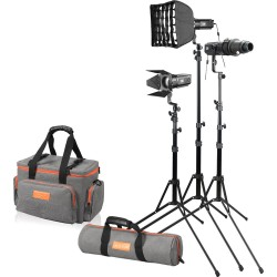 LED прожекторы - Godox SA-D S30 3 heads kit - быстрый заказ от производителя