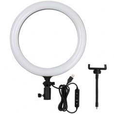 Godox LR120 LED dimmable bi-color ring light - 30cm / 3000K-6000K / RGB / 0-100%
