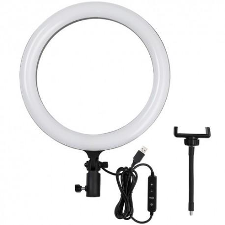 Gredzenveida LED lampas - Godox LR120 LED gredzenveida dimējama bi-color lampa - 30cm / 3000K-6000K / - perc šodien veikalā un ar piegādi