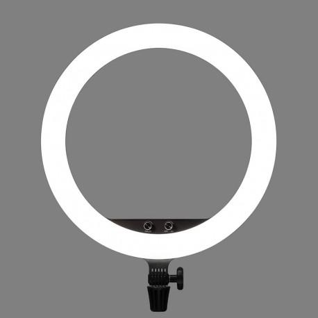 Gredzenveida LED lampas - Godox LR150 LED gredzenveida dimējama bi-color lampa ar statīvu 240F - 45cm - perc šodien veikalā un ar piegādi
