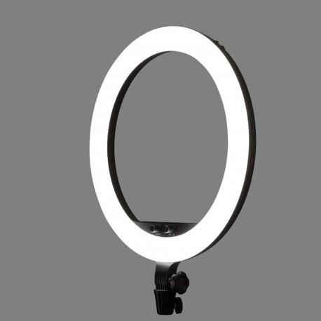 Gredzenveida LED lampas - Godox LR150 LED gredzenveida dimējama bi-color lampa ar statīvu 45cm / 3000K-6000K - perc šodien veikalā un ar piegādi