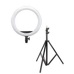 """""""Ring"""" pastāvīgā gaisma - Godox ring led light 15inch LR150 black with light stand - perc šodien veikalā un ar piegādi"""