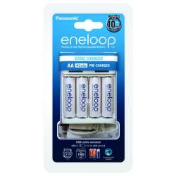 Batteries and chargers - Eneloop BQ-CC61 E USB lādētājs 4x AA 2000mAh BK-3MCCE - buy today in store and with delivery