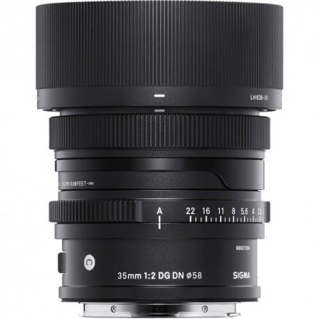 Sigma 35mm F2.0 DG DN lens L-Mount