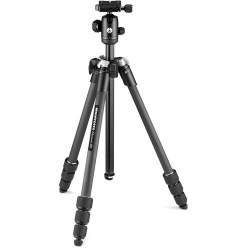 Manfrotto tripod Element MII Mobile Bluetooth Carbon MKELMII4CMB-BH, black