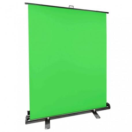 Foto foni - StudioKing Roll-Up Green Screen FB-150200FG 150x200 cm Chroma Green - perc šodien veikalā un ar piegādi