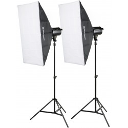 Studio flash kits - Bresser BRM-300AM Studio set 3x 300W - buy today in store and with delivery