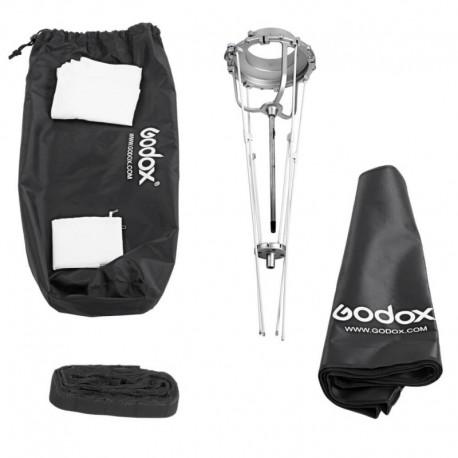 Softboksi - Godox SB-GUSW6060 Umbrella style grid softbox with bowens mount 60x60cm - perc šodien veikalā un ar piegādi