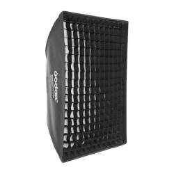 Softboxes - Godox SB-GUSW9090 Umbrella style grid softbox with bowens mount 90x90cm - buy today in store and with delivery