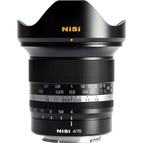 Lenses - NISI LENS 15MM F4 CANON RF-MOUNT 15MM F4 RF-MOUNT - quick order from manufacturer