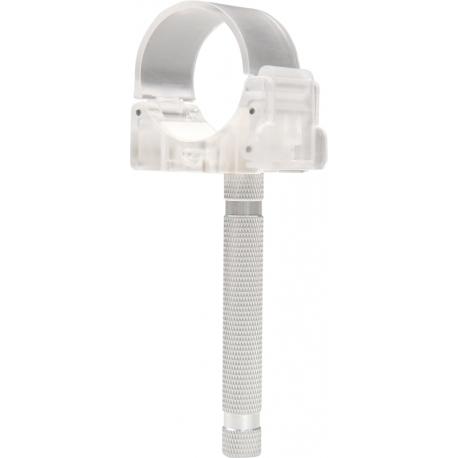 Держатели - LEDGO TRANSPARENT SINGLE CLIP WITH PILLAR HD-T14-1-CP T14 - быстрый заказ от производителя