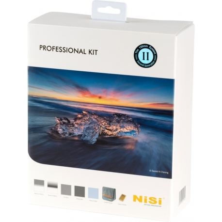 Neutral Density Filters - NISI KIT 150MM PROFESSIONAL II (CADDY) PROF KIT II 150MM - quick order from manufacturer