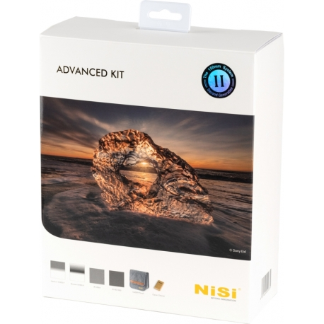 Neutral Density Filters - NISI KIT 150MM ADVANCED II (CADDY) ADVANCE KIT II 150MM - quick order from manufacturer