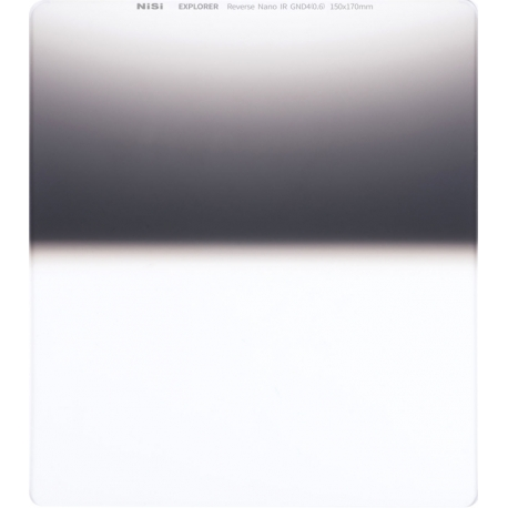 ND Graduated Filters - NISI SQUARE FILTER EXPLORER 150X170MM REVERSE GND4 2STOPS EXPLORER RE GND4 150 - quick order from manufacturer